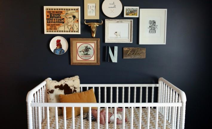 Navy Blue Farm Nursery - Project Nursery
