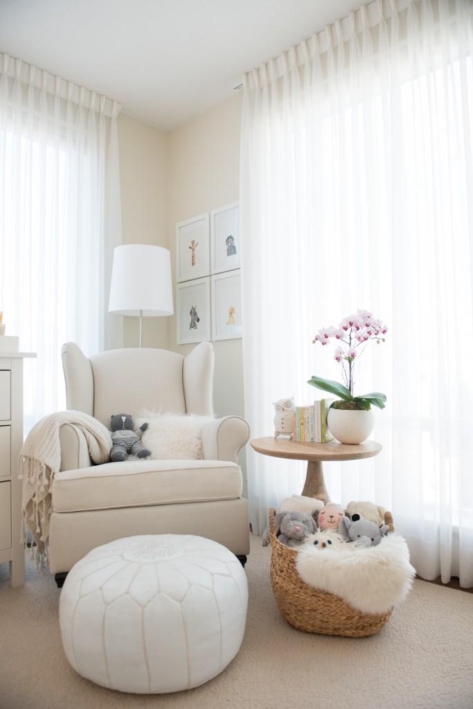 Soft and Serene Nursery Nook