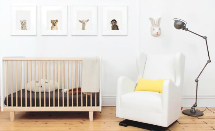 Rhea Birch Crib