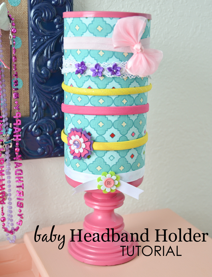 Diy headband holder project nursery baby headband holder tutorial solutioingenieria Images