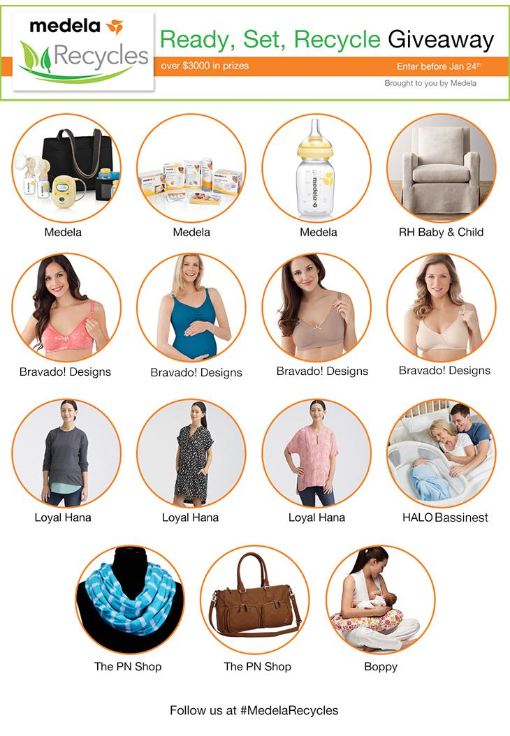 Medela Giveaway Prizes