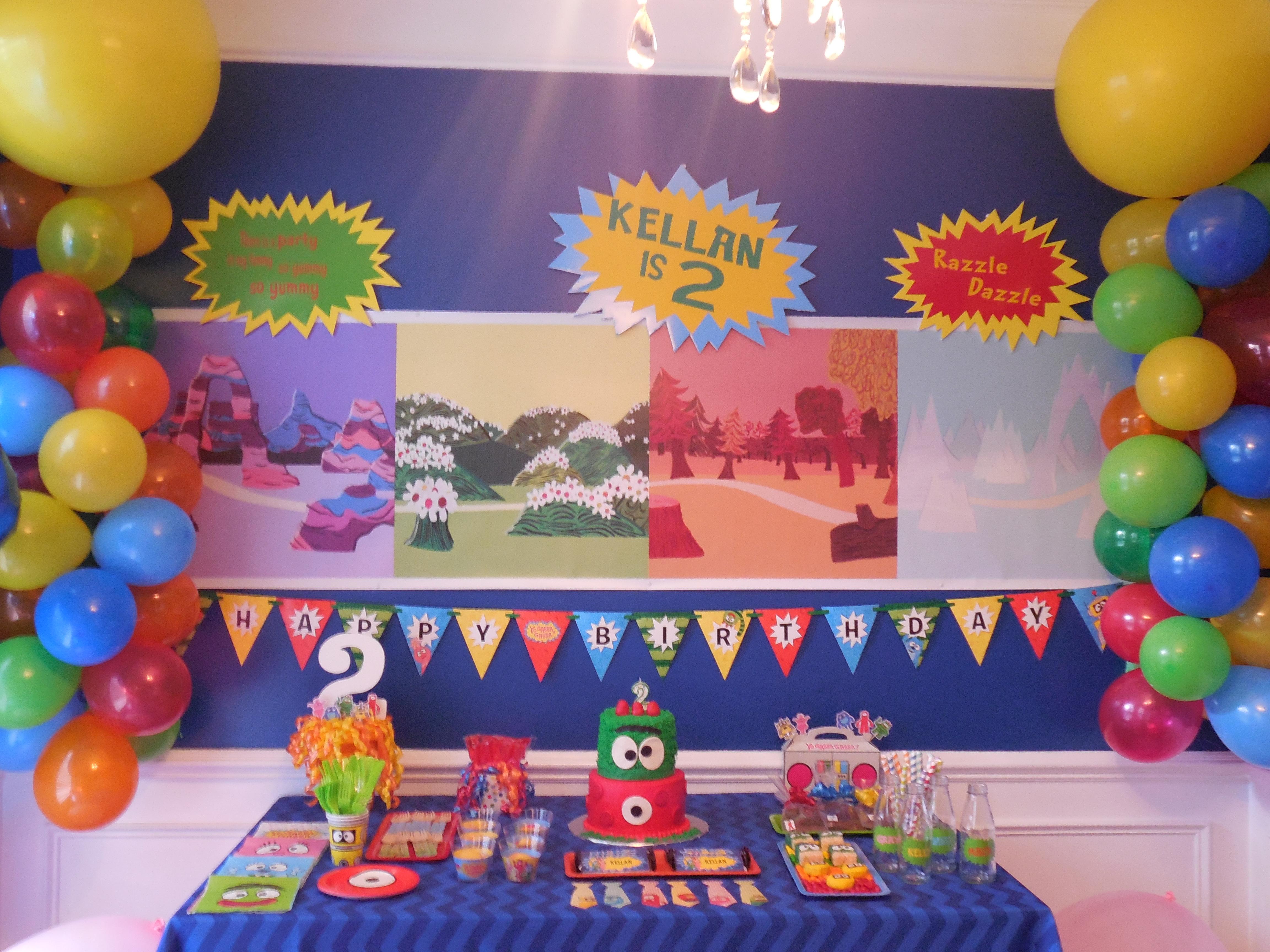 Yo Gabba Gabba Party Project Nursery