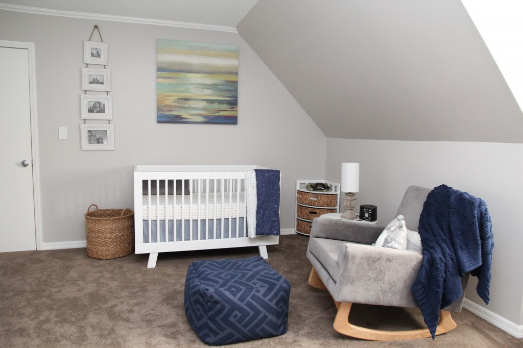 Blue and Gray Nursery