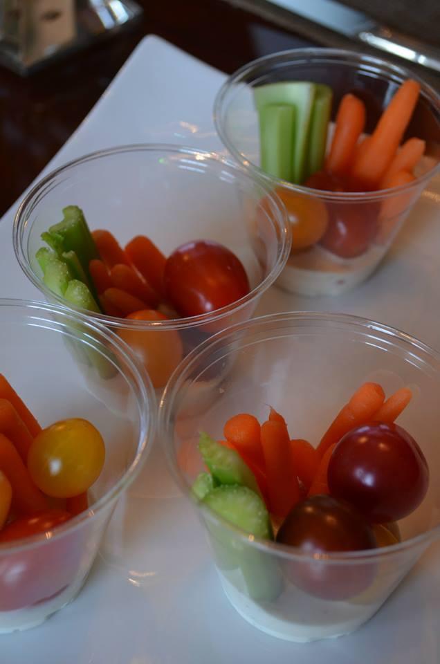 Veggie Cup Appetizers