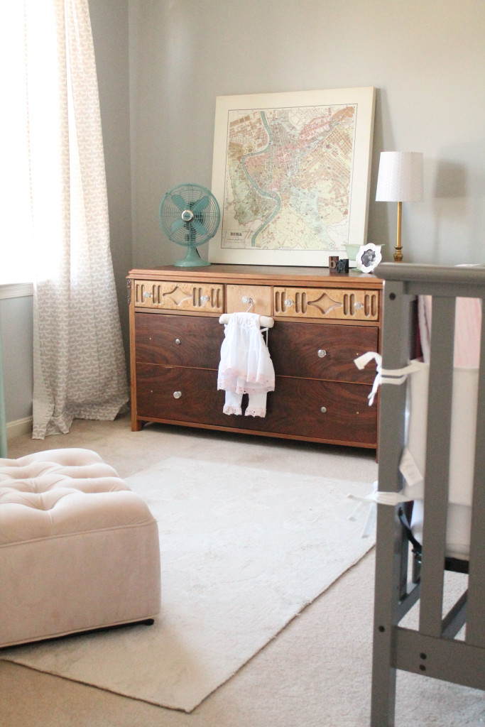 Gray, Mint and Gold Nursery