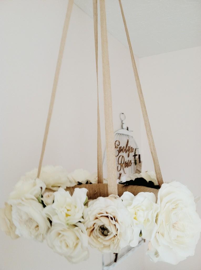 DIY Flower Mobile
