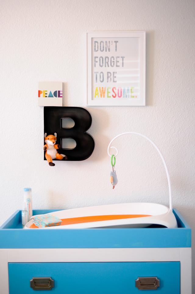 Be Awesome Nursery Art - Project Nursery