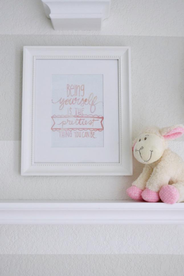 Be Yourself Nursery Wall Art - Project Nursery