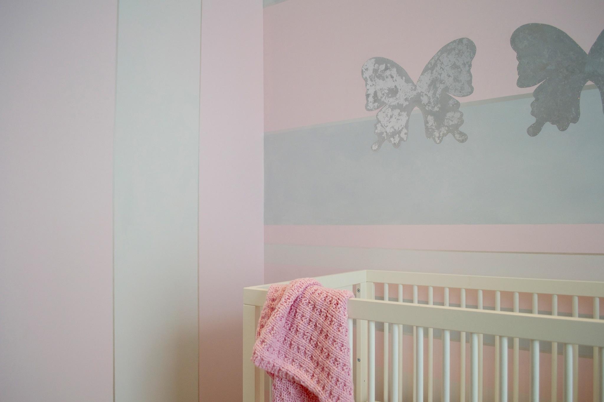 Silver Nursery Butterflies