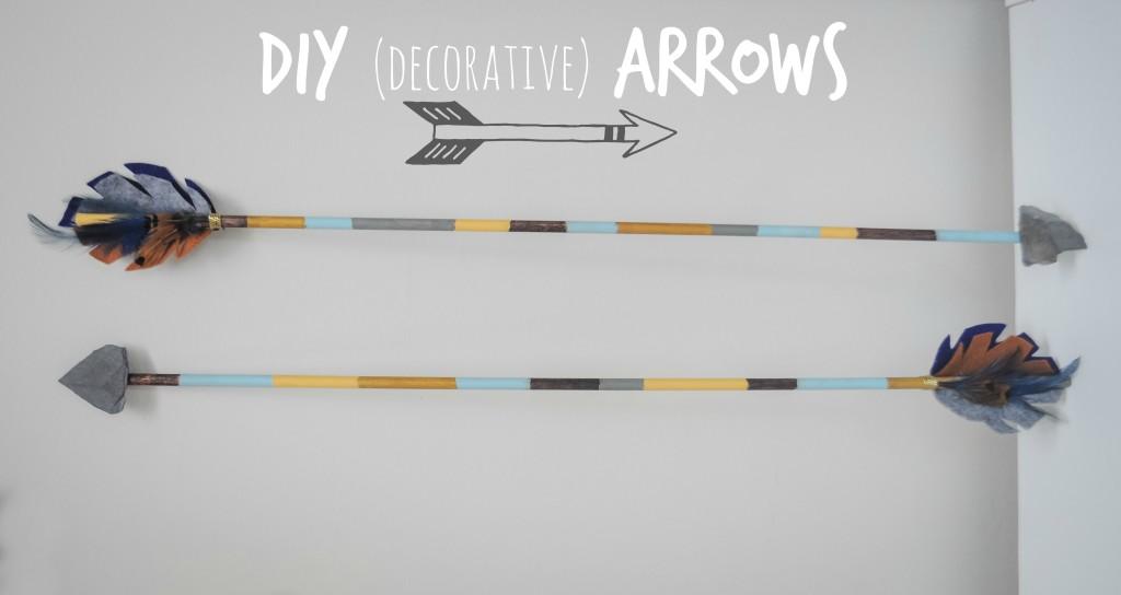 DIY Decorative Arrows