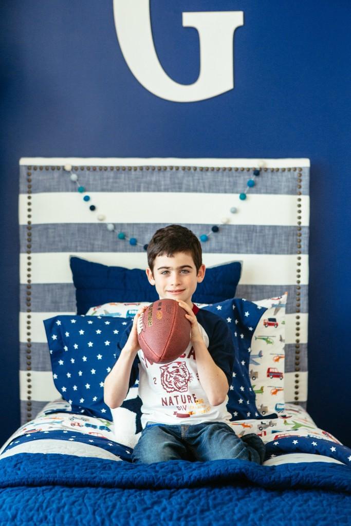 Navy Stars Bedding - Project Junior