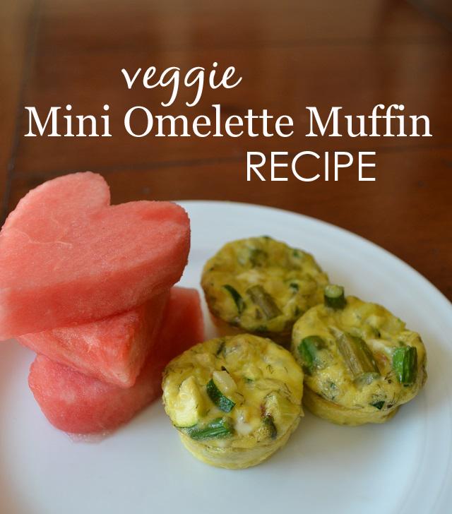 Mini Omelette Muffins Recipe