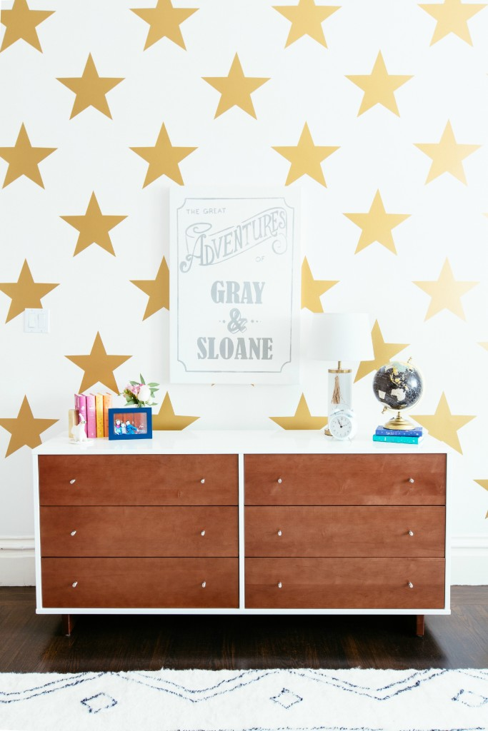 Urban Walls Gold Star Decals - Project Junior