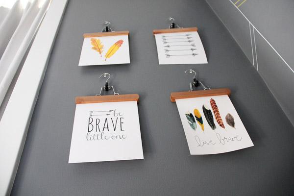 Be Brave Nursery Art - Project Nursery