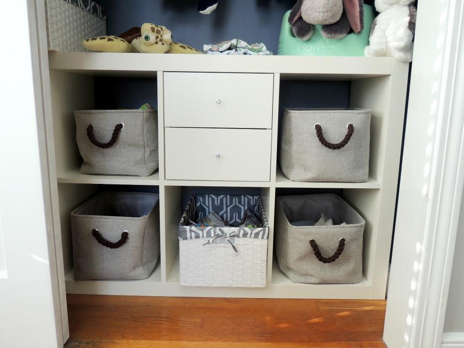Nursery Closet Organization