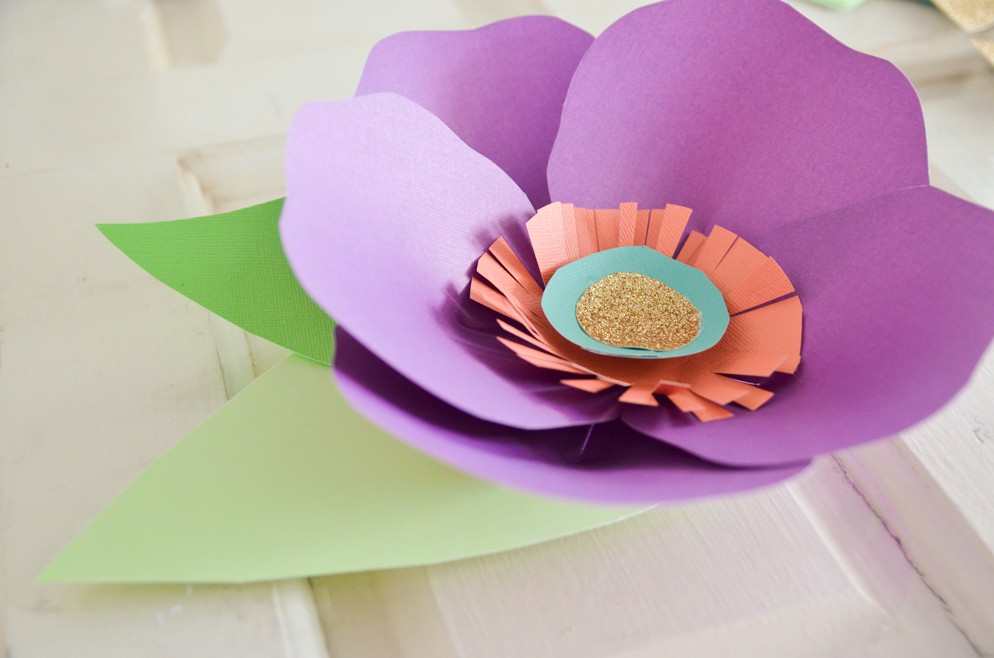 DIY: Hand Cut Paper Flowers - Project Nursery