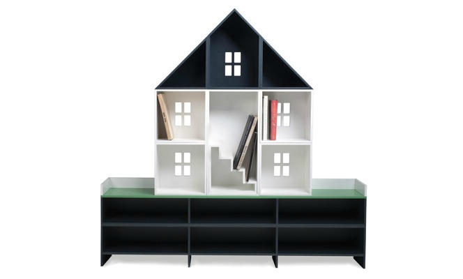 Dollhouse Bookcase by Harry Allen