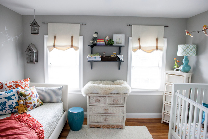 Eclectic Gray Nursery
