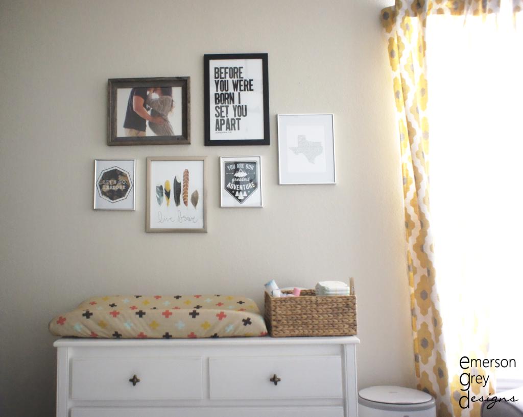 Nursery Gallery Wall - Project Nursery