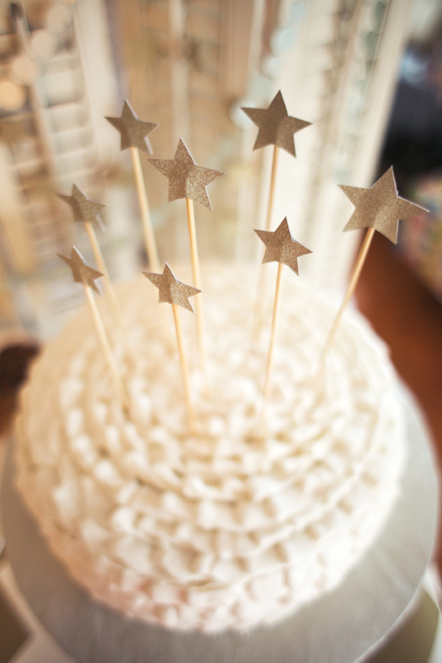 Twinkle Twinkle Star Cake - Project Nursery