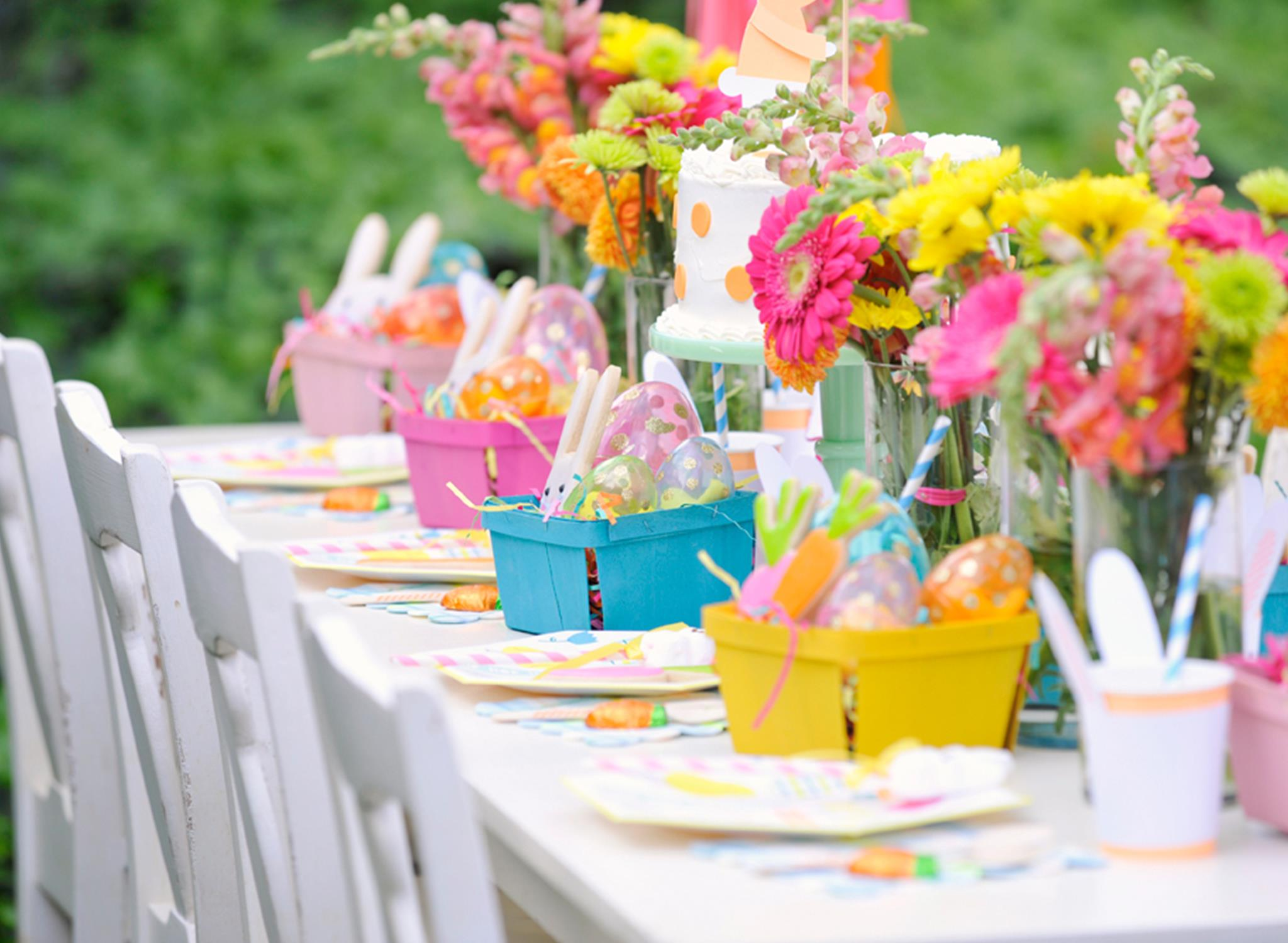 Kids Easter Party Decor