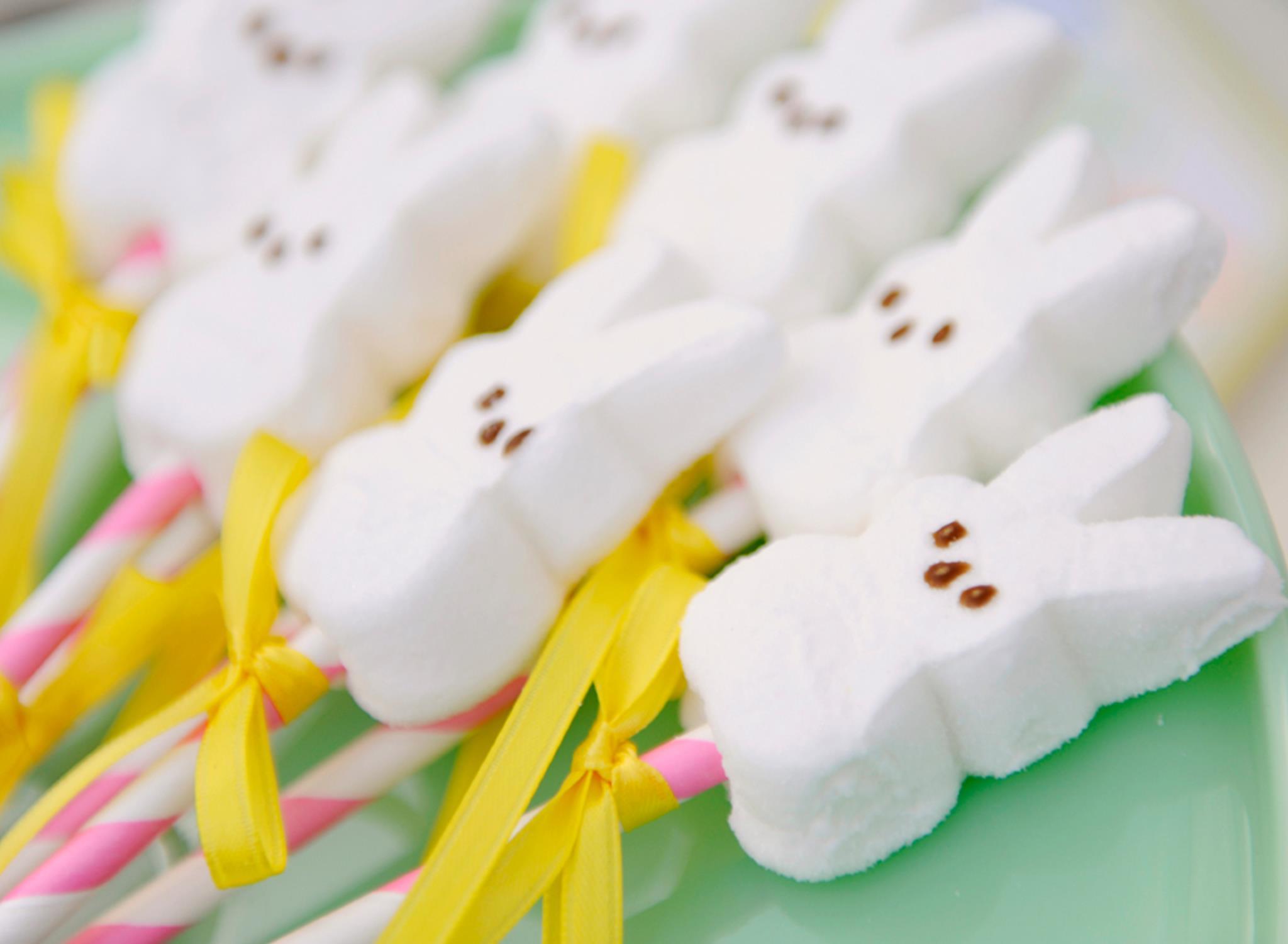 Easter Peeps Pops