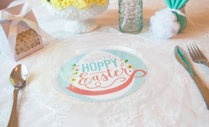 Easter Plate Printable