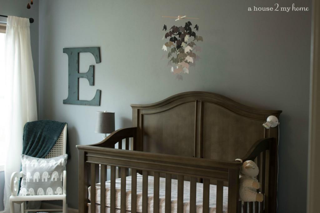 Elephant Themed Nursery And Baby Shower Project Nursery