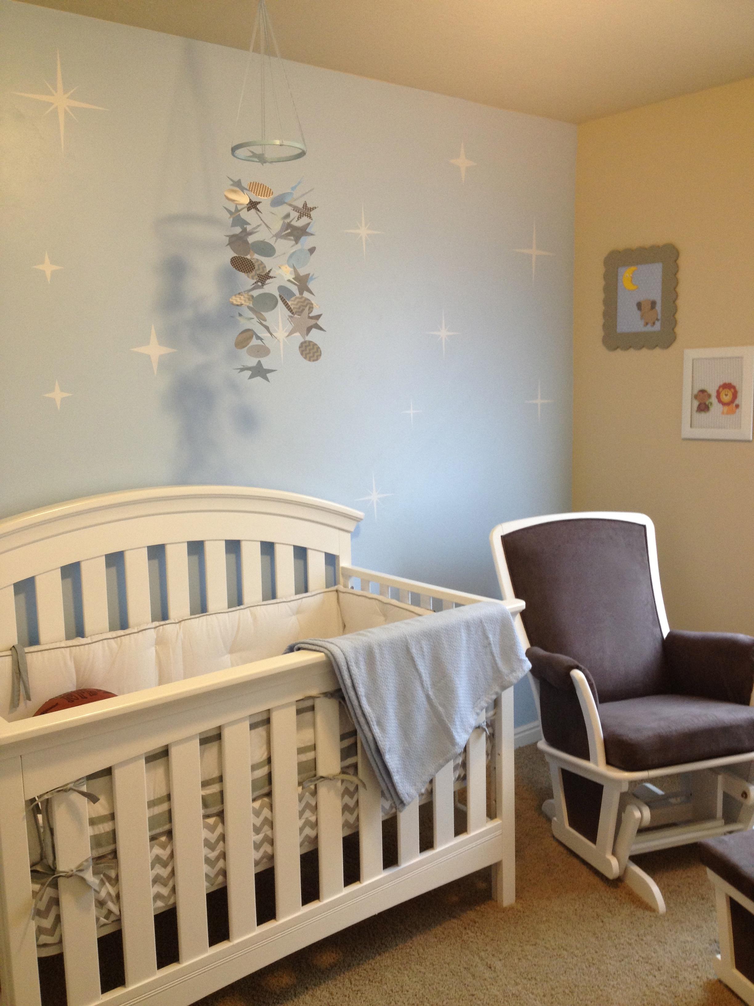 Sweet Baby Blue Nursery - Project Nursery
