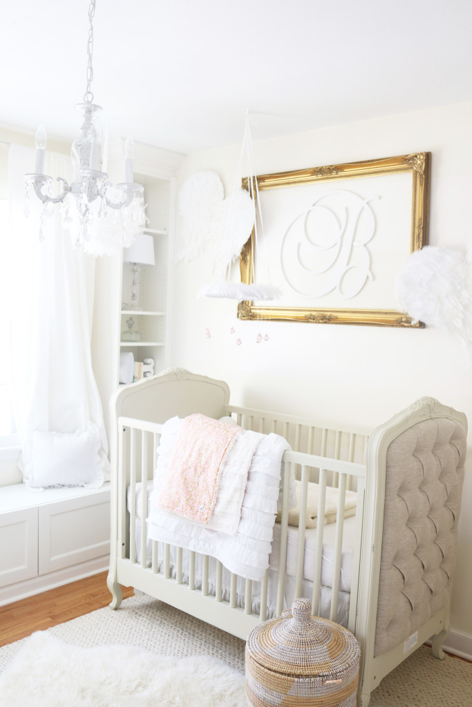 White and Gold Dreamland Nursery