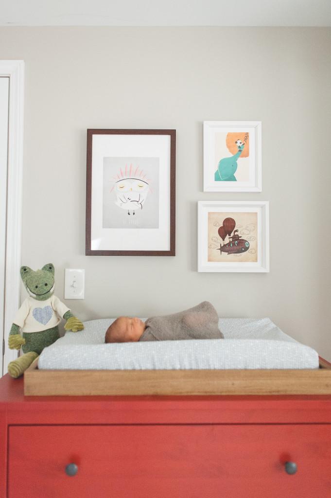 Baby Luke S Modern Vintage Nursery Project Nursery
