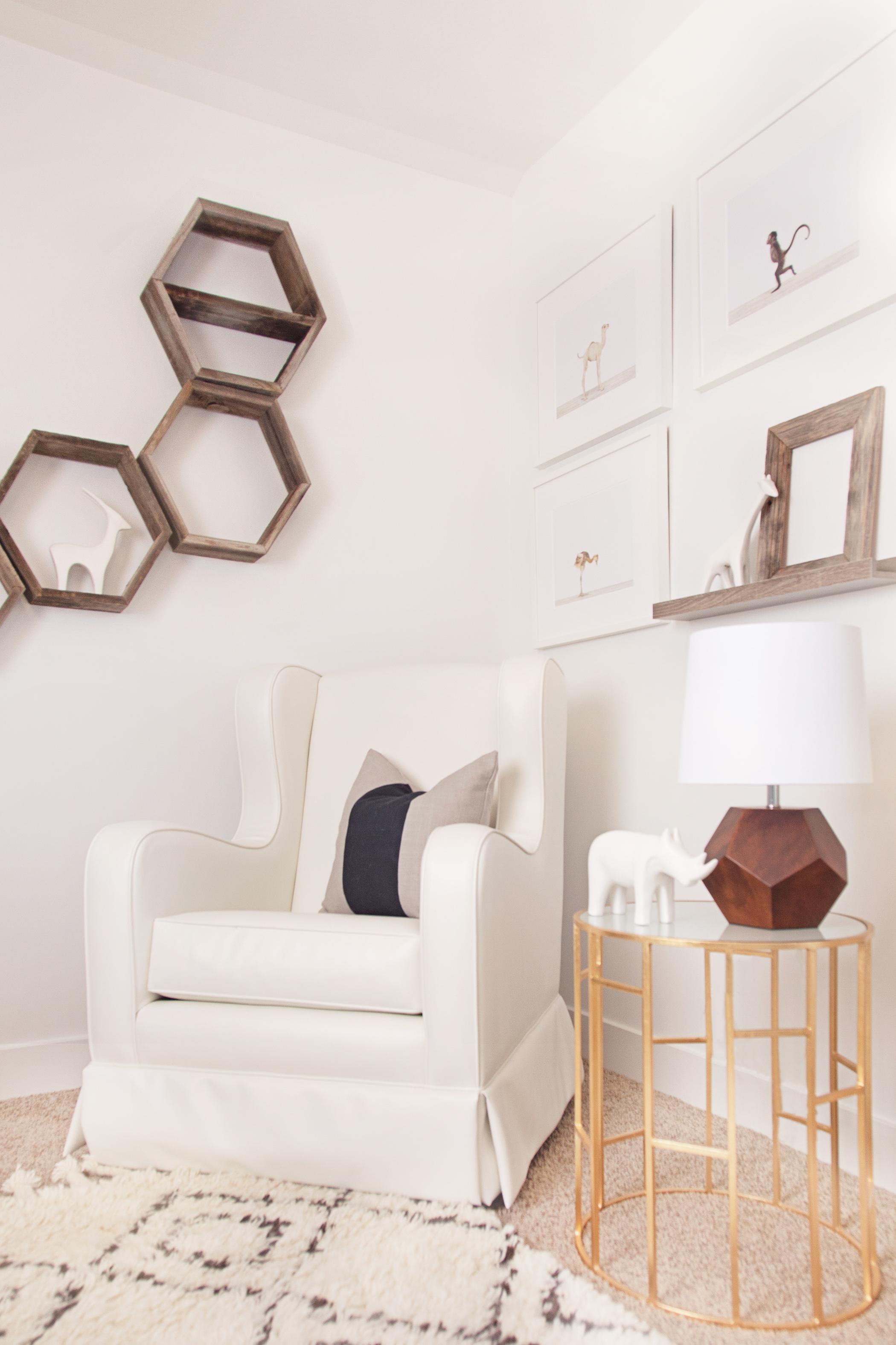 Glider and Hexagon Shelves