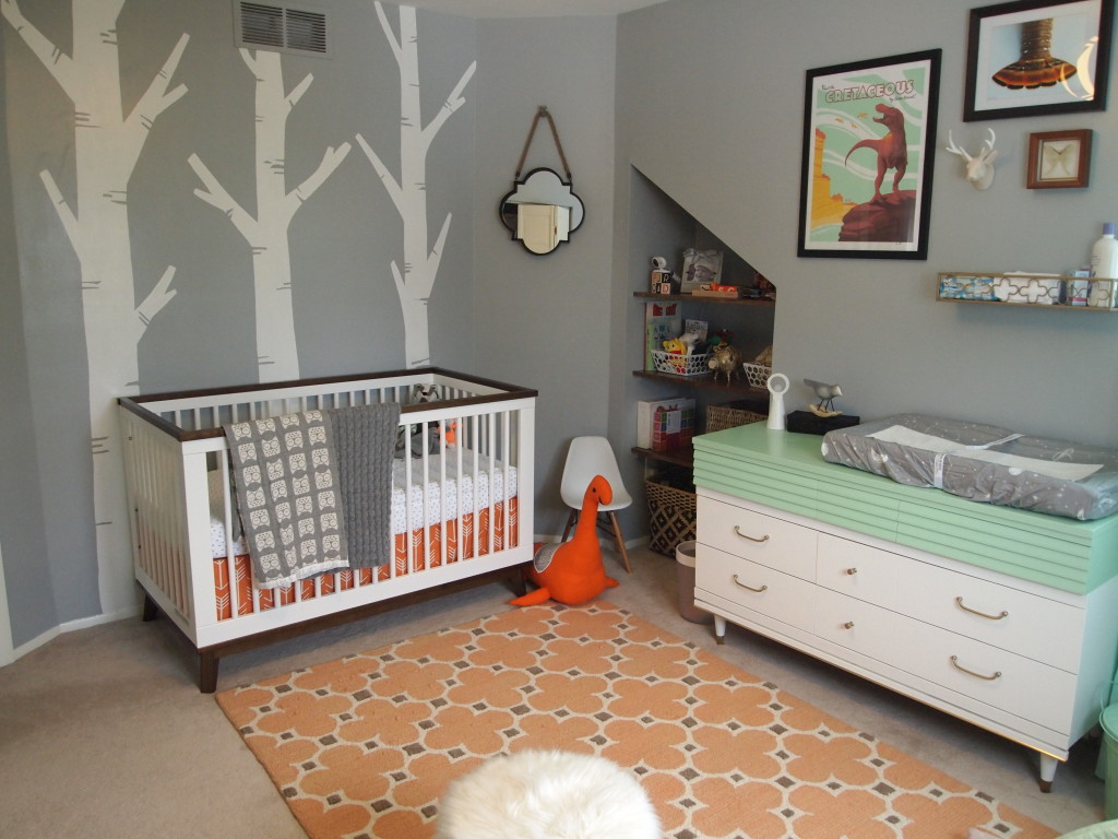 Mint & Orange Nursery