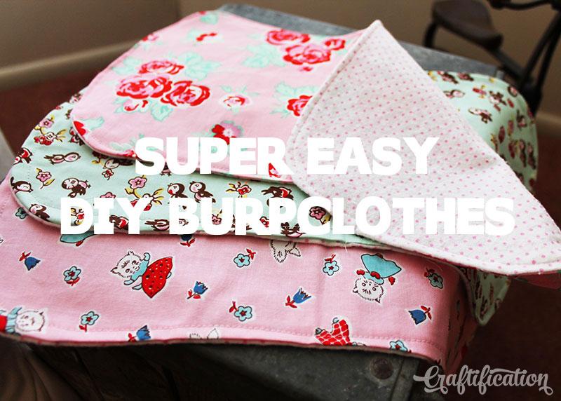 Burp Clothes Tutorial