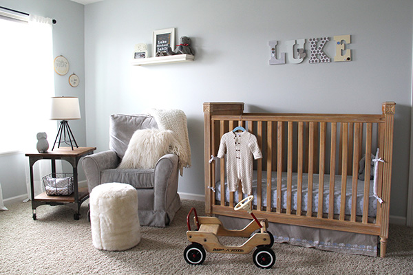 Gender Neutral Nursery with Vintage Decor - Project Nursery