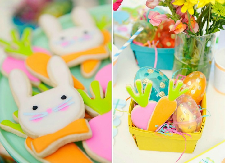 Easter Cookies and Favors