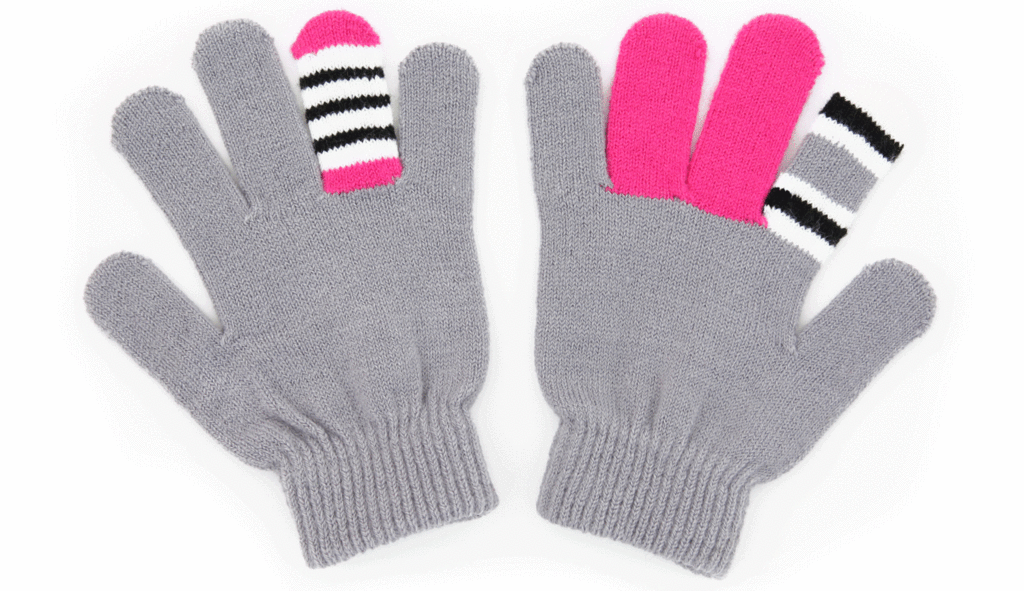 Gray Warmsters Monster Gloves