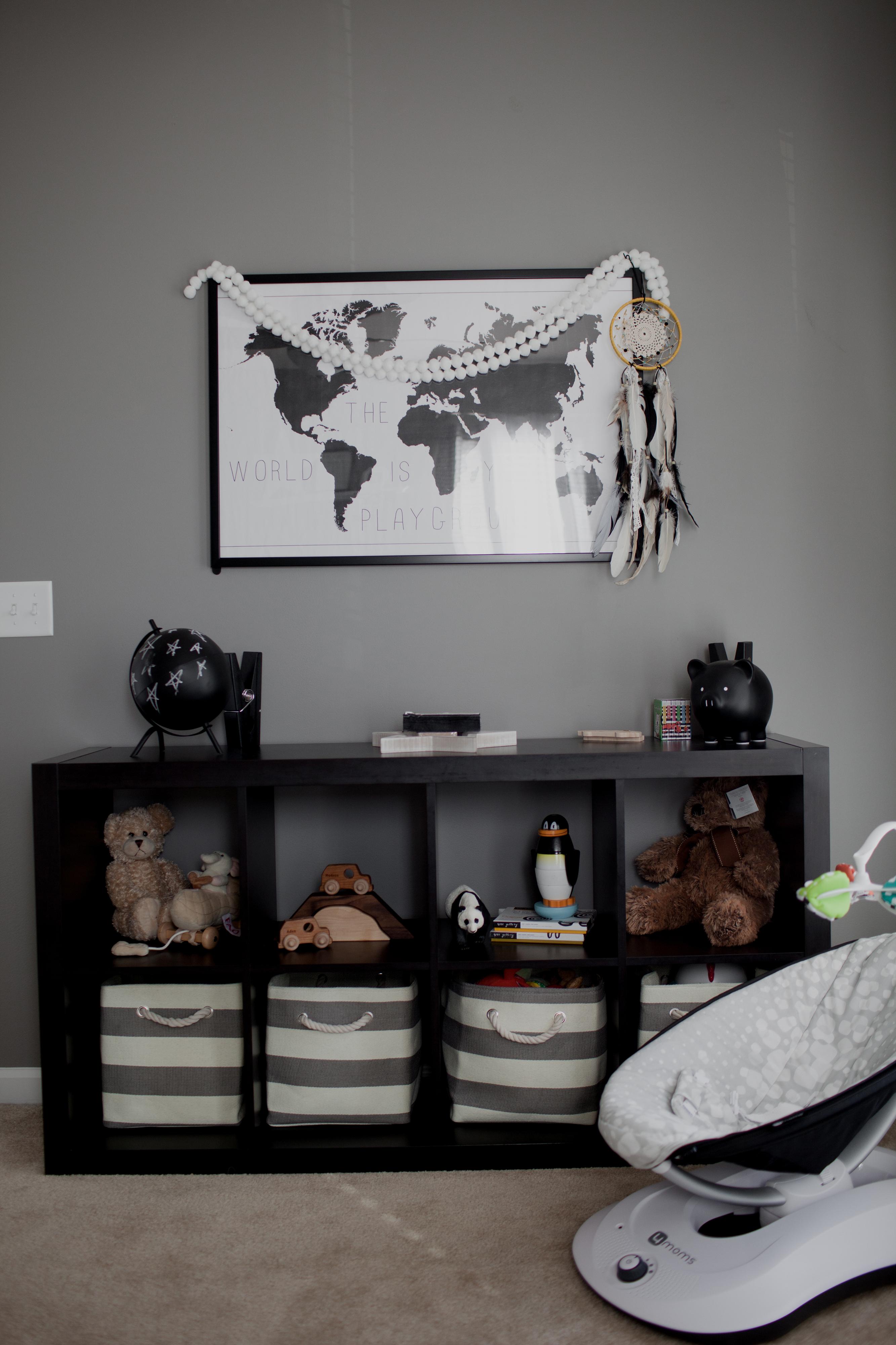 Black and White Nursery - Project Nursery