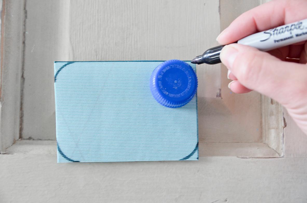 No Sew Door Latch Cover Tutorial