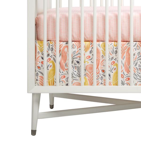 Boheme Percale Crib Skirt