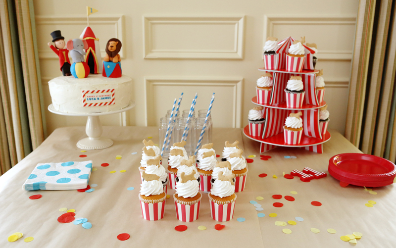 Circus-Themed Birthday Party - Project Nursery