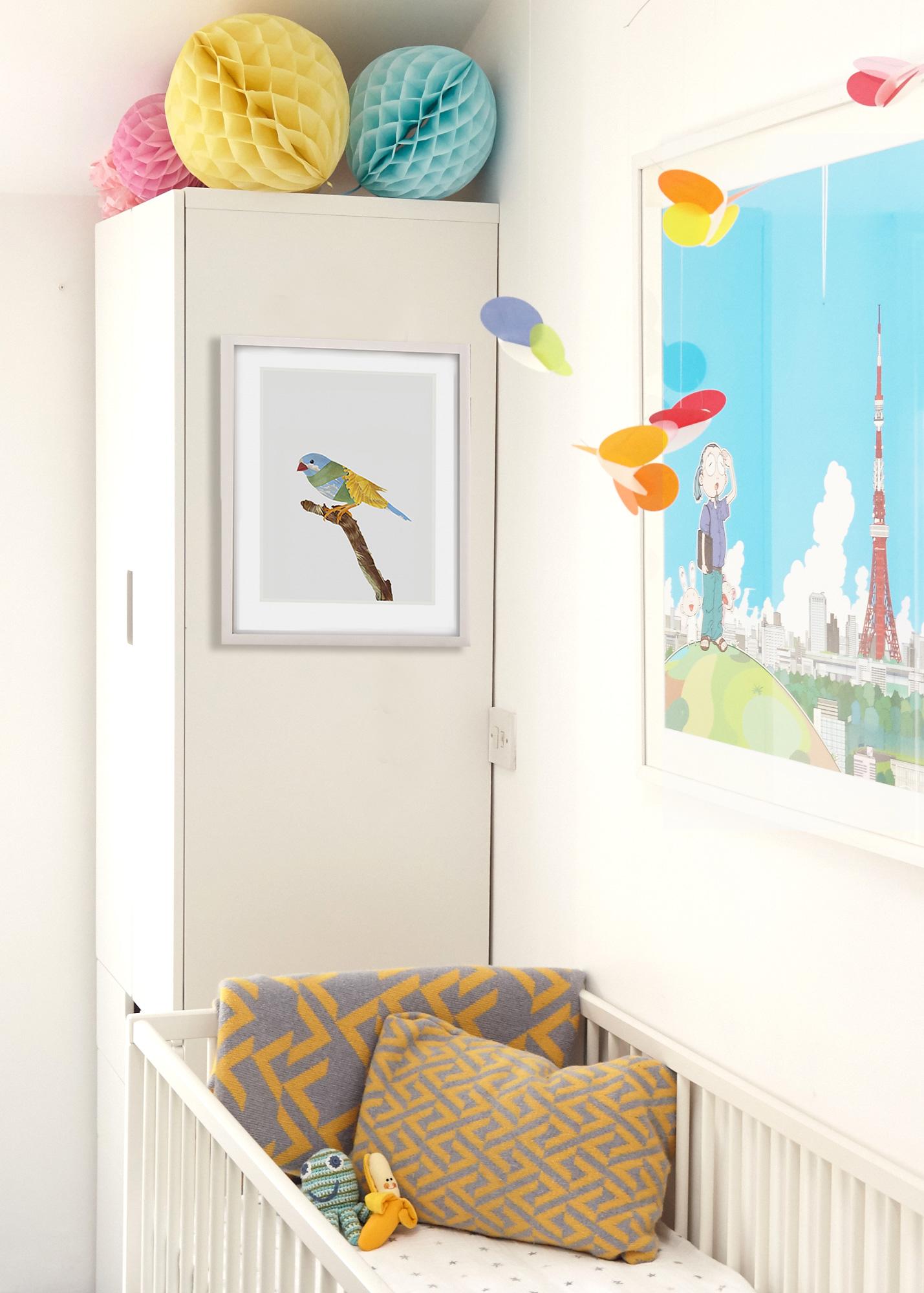 Nursery Artwork from Rise Art