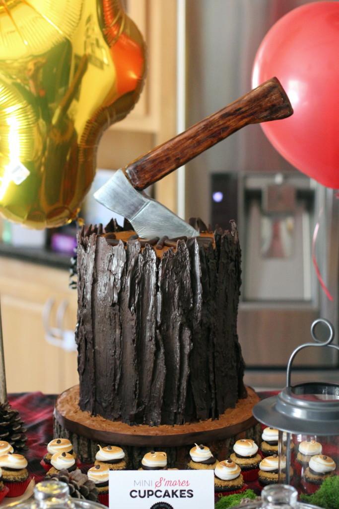Lumberjack Lukes 4th Birthday