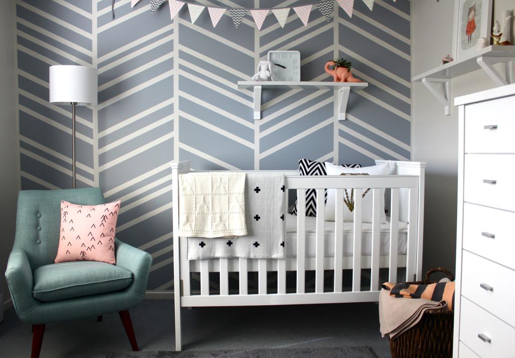 Modern Nursery Design Project Nursery