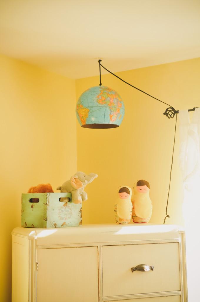 DIY Globe Light Fixture - Project Nursery