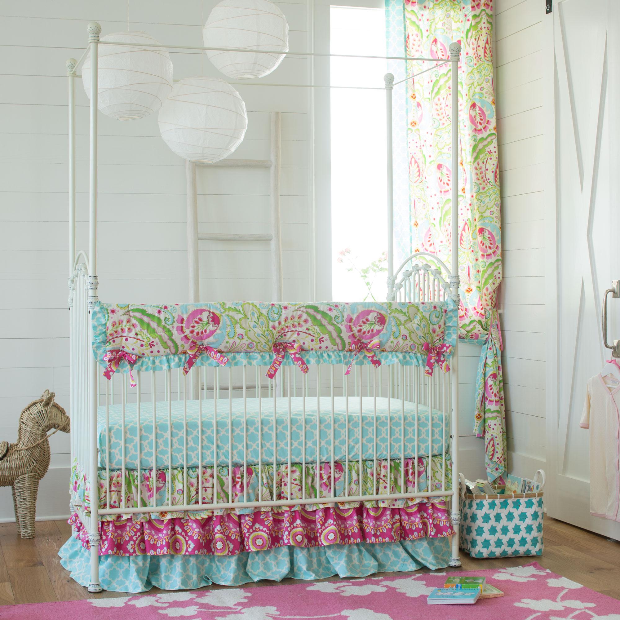 Kumari Garden Crib Bedding Collection from Carousel Designs