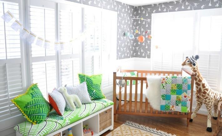 Modern Safari Gender Neutral Nursery - Project Nursery