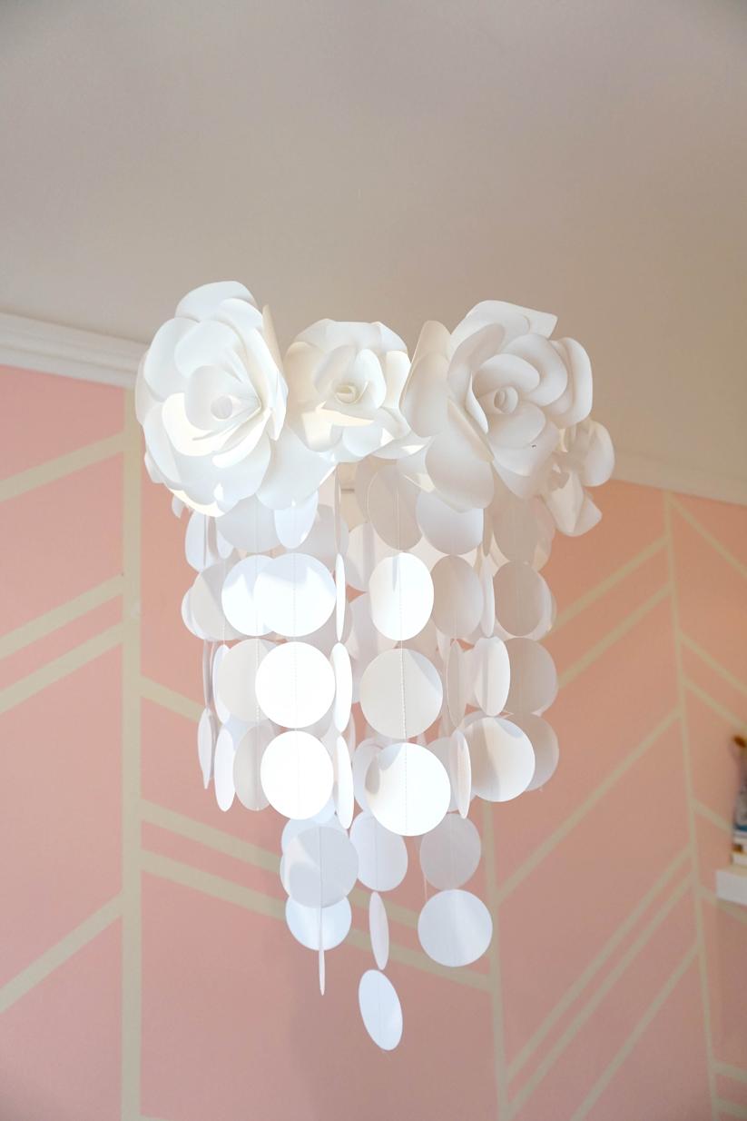 Handmade Paper Flower Mobile