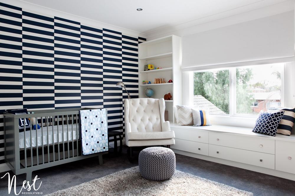 Modern Hamptons Nursery