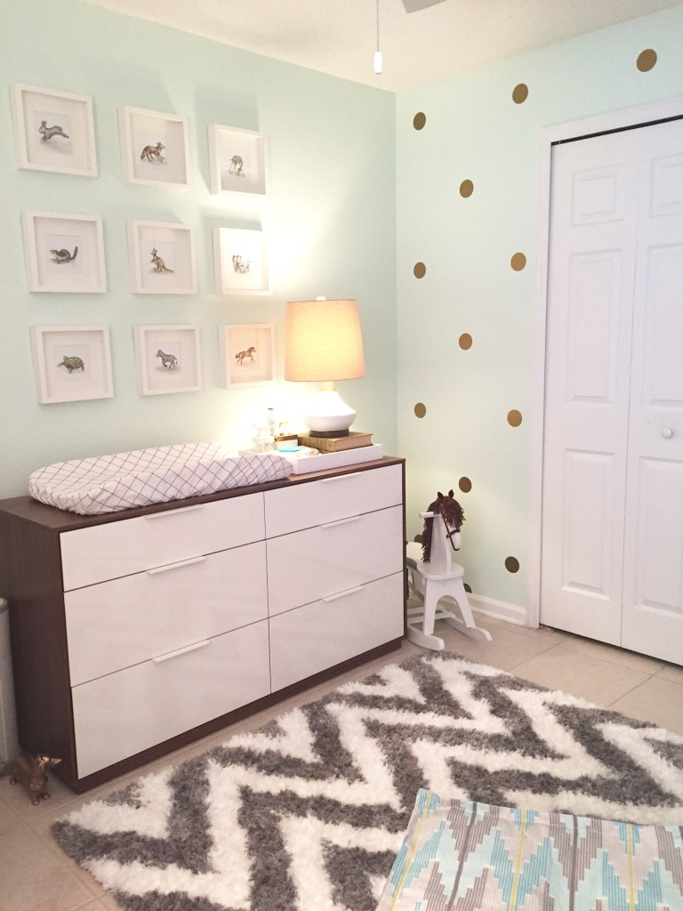 Modern Gender Neutral Nursery - Project Nursery